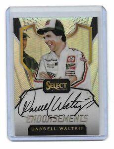 2017 Panini Select NASCAR Racing Endorsements Autographs Darrell Waltrip BV$$$