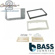 CT23VX29 Pearl White Vauxhall Corsa 2006-2014 Car Stereo Double Din Fascia Panel