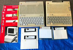 Apple IIc and Apple IIc Plus Model A2S4500 & Apple IIc User Guides & IIc disks