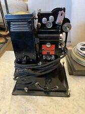 Vintage  Pathescope Lux 9.5mm Cine Film Projector & Accessories & Case
