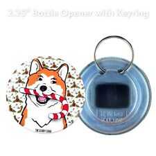 Akita Candy Cane Christmas Holiday Bottle Opener Gifts and Accessories