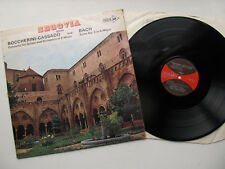 "Segovia plays Boccherini-Cassado & Bach 12"" LP MCA MUCS 125 Stereo Uk 1961 1L/1L"