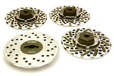 RC Car C27170GUN Alloy 44mm Brake Disc 12mm Hex +3 Offset for 1/10 Size RC Drift