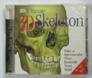 ULTIMATE 3D SKELETON - DK SCHOLASTIC INTERACTIVE LEARNING CD-ROM - BRAND NEW