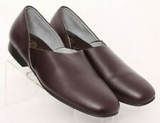 L.B. Evans Radio Tyme II Classics Plum Comfort Slippers 8346 Men's US 12 M
