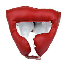 Locus BOXE MMA MUAY THAI Sparring HEADGUARD Rosso
