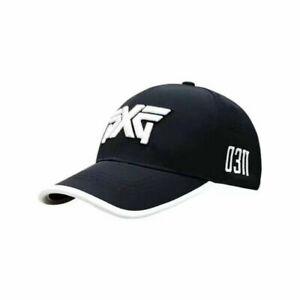 PXG 0311 Golf Baseball Cap Adjustable Summer Casual Hat Black/White Waterproof