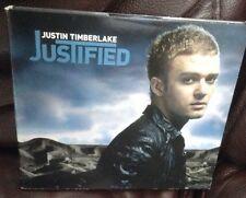 Justin Timberlake - Justified - rare digipak edition CD