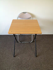 Folding exam class room Snack dining camping Laptop Coffee bistro Table & chair