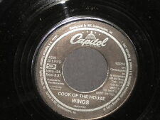 "Wings ""Silly Love Songs/Cook of the House"" 45 in Stereo"
