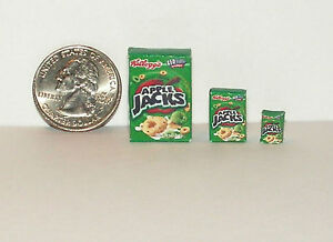 Dollhouse Miniature Food Breakfast Cereal 1:24 Inch Scale aj E83 Dollys Gallery