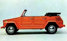 1971 Volkswagen 181 Thing Mehrzweckwagen Factory Photo J4498