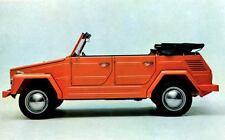1971 Volkswagen 181 Thing Mehrzweckwagen Factory Photo J4498