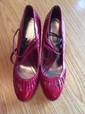 Dorothy Perkins red shoes, size 5