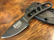 ESEE Knives Candiru Black with Black Sheath Authorized Dealer CAN-B-E
