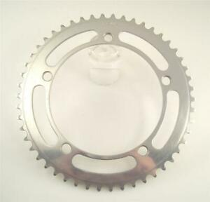 VGC GIPIEMME TRACK PISTA BCD 144 Large Chainring for Campagnolo RECORD 50T (cw8)
