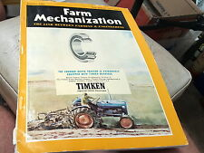 Jan 1960 FARM MECHANIZATION  Magazine