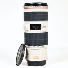 Canon EF 70-200mm F/4 L Series IS USM Image Stabilizer Lens
