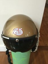 Prolite Gentex Helmet Gold, Visor, ultralight aircraft / helicopter medium