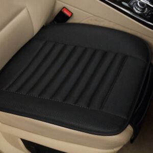 6 Colors PU Bamboo Charcoal For Car Seat Cushion Cover Pad Mat Protector Pocket