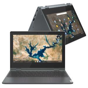 "Lenovo IdeaPad Flex 3 CB 11IGL05 11.6"" Laptop Celeron N4020 4GB 64GB, 82BB000JUK"