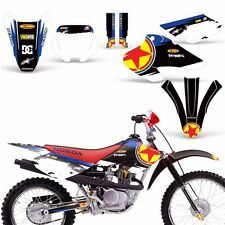 Decal Graphics for Honda XR80-XR100 Dirtbike MX Wrap Motocross Deco 2001-2003 RS