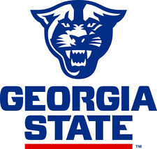 Georgia State Panthers NCAA Color Die-Cut Decal / Car Sticker *Free Shipping