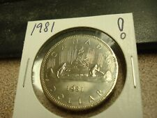 1981 - High Grade - Canada $1 - Canadian dollar -