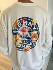 06fda2f24 TOMMY BAHAMA CREW NECK WHITE RELAX LONG SLEEVES NWT/2XLT