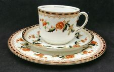 Early 20th c Aynsley Bone China Trio Pattern 2054 cup, saucer and side plate.