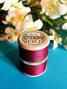 559B/Splendid Spool of Thread Alsa For Embroidery N°60 Fuchsia Pink Dark N #915