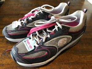Injusto Planta de semillero Volcán  Las mejores ofertas en Zapatos Atléticos Skechers Shape Ups Gris para  Mujeres | eBay