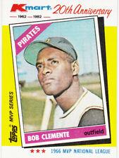 1982 Kmart 20th Anniversary Roberto Clemente Season Highlights MVP Series NNO