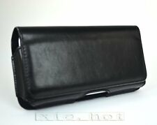 For Samsung Galaxy S3 i9300 New Black PU Leather Case Cover Pocket Clips