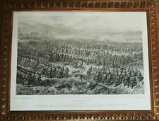 Auguste Raffet - lithographie - Combat d'Oued Alleg 1839  Algérie