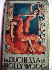 "1933 Stunningly Gorgeous Italian Ad Booklet Titled ""la Duchessa di Hollywood"" *"