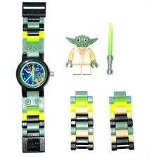 Lego ® Star Wars Yoda kinderuhr, reloj de pulsera, lego Yoda watch 8020295 New