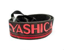 Yashica Red & Black Camera Neck Strap