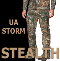 UNDER ARMOUR UA STEALTH EARLY SEASON FIELD PANTS CAMO STORM REALTREE 1299248-943