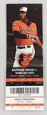 MLB 2013 08/19 Tampa Bay Rays at Baltimore Orioles Ticket -David Price WP