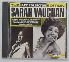 LaserLight The Jazz Collection Edition Sarah Vaughan CD MINT