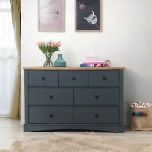 Dark Grey or White with Oak Finish Top Living and Bedroom Furniture PROMOTION