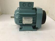 ABB 3GVA062002-ASA 0.22 KW AC Motor 440-480/250-280 Volts 1650 Rpm