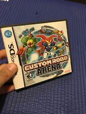 Nintendo DS: Custom Robo Arena - Complete - Used - good Authentic