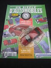 AC941 SOLIDO HACHETTE LANCIA LYBRA 1999 1/43 UN SCIECLE D'AUTOMOBILES