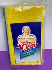 Mr. Clean Deluxe Sponge Mop Refill For 4120 Butler 1010 NEW Sealed Snap Yellow