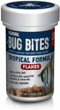 Fluval Bug Bites Insect Larvae Tropical Fish Flake 0.63 oz