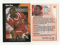 50 count lot 1991/92 Star Pics Stacey Augmon Rookie Cards #17 UNLV Rebels RC LOT