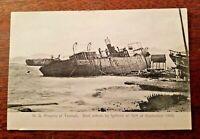 N.S. Rosario of Yaumati damaged HONG KONG TYPHOON Sept 1906 Postcard #9 UNUSED