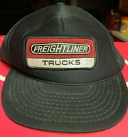 VTG Otto Freightliner Trucks Patch Trucker Hat Cap Black Mesh Foam Snapback